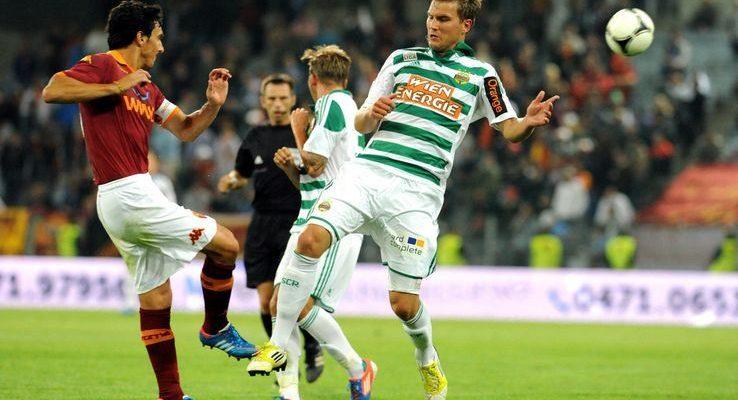 Rapid Vienna-Roma 1-2 [VIDEO]